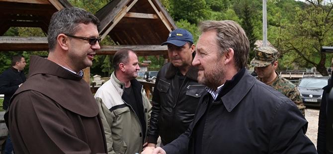 Bosna-Hersek'te sel felaketi 17