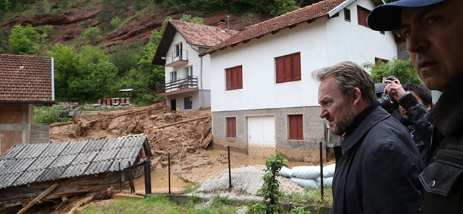 Bosna-Hersek'te sel felaketi 18