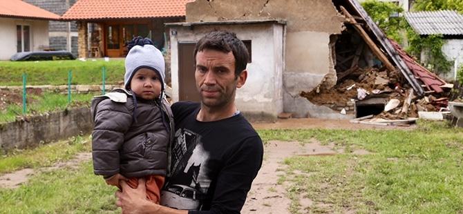 Bosna-Hersek'te sel felaketi 19