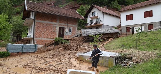 Bosna-Hersek'te sel felaketi 20
