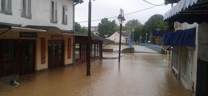 Bosna-Hersek'te sel felaketi 6