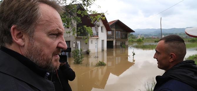 Bosna-Hersek'te sel felaketi 9