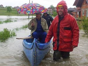 Bosna-Hersek'te sel felaketi