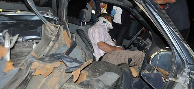 3 aracın karıştığı kazada 2 yaralı 3