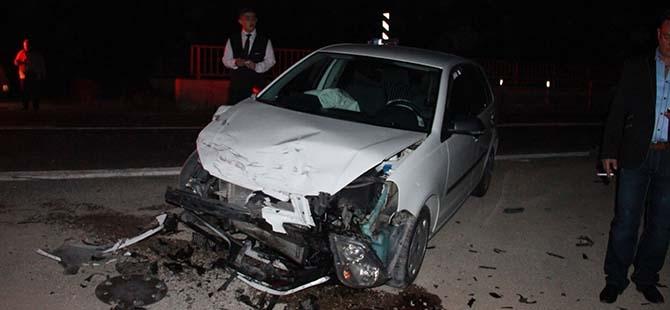 3 aracın karıştığı kazada 2 yaralı 8
