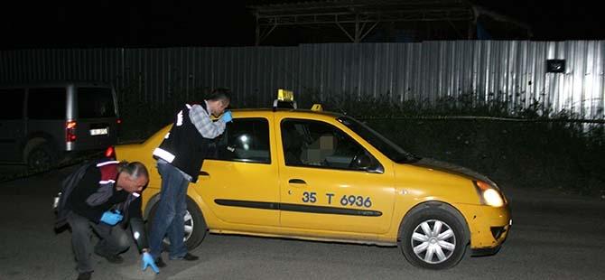İzmir'de taksici cinayeti 1