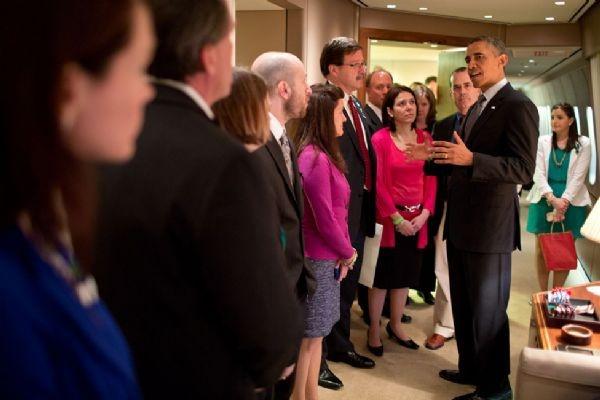 Beyaz Saray'dan Özel Fotoğraflar 12