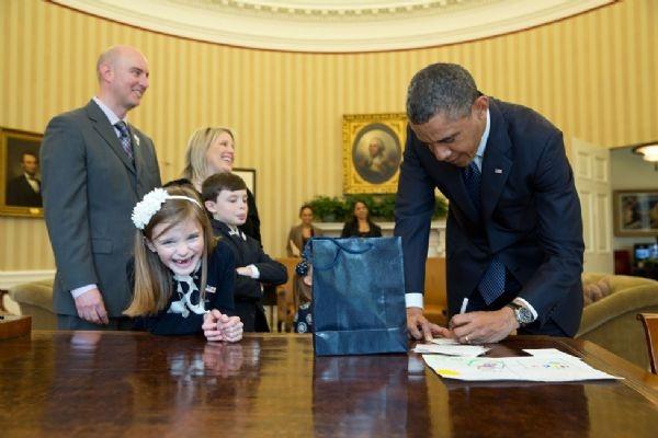 Beyaz Saray'dan Özel Fotoğraflar 7