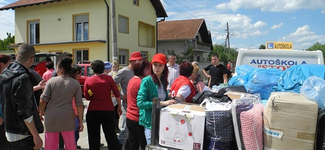 Balkanlar'da sel felaketi 25