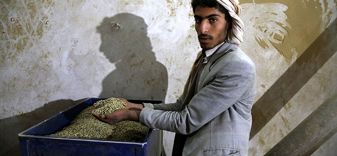 Yemen'de Ramazan öncesi kahve telaşı 4