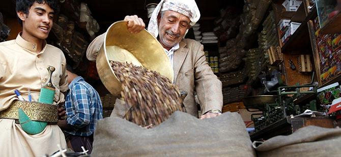 Yemen'de Ramazan öncesi kahve telaşı 6