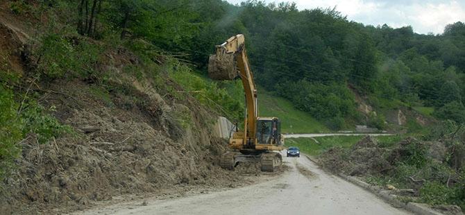 Bosna ve Sırbistan'da sel felaketi 1