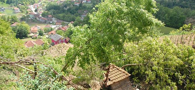 Bosna ve Sırbistan'da sel felaketi 12