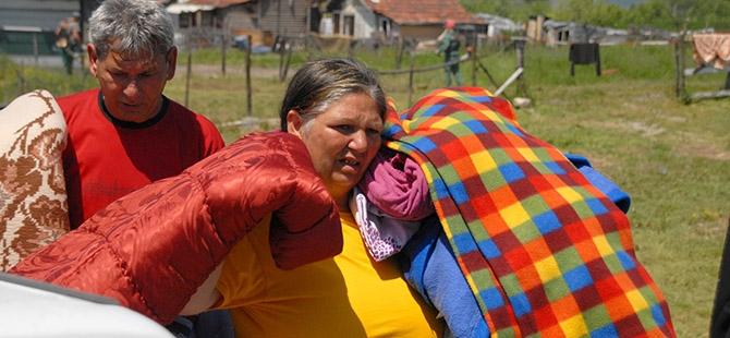 Bosna ve Sırbistan'da sel felaketi 15