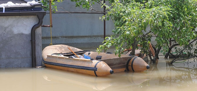 Bosna ve Sırbistan'da sel felaketi 2