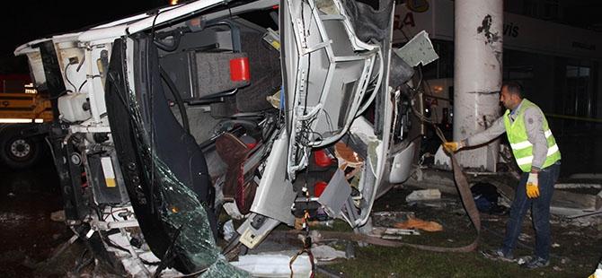 Katliam gibi kaza: 4 ölü, 16 yaralı 1