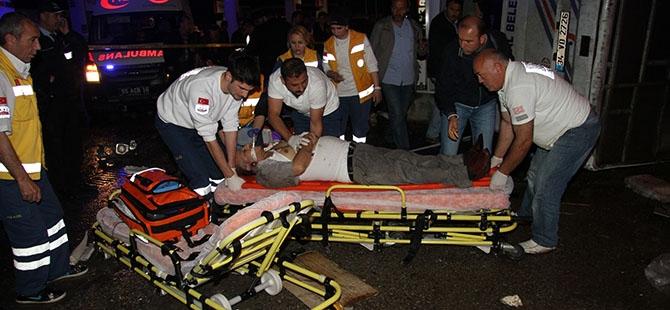 Katliam gibi kaza: 4 ölü, 16 yaralı 19