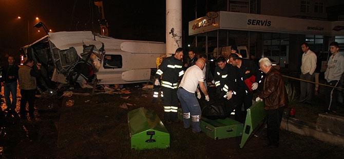 Katliam gibi kaza: 4 ölü, 16 yaralı 20