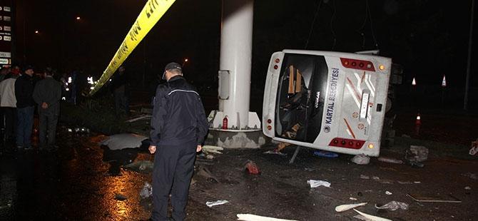 Katliam gibi kaza: 4 ölü, 16 yaralı 8