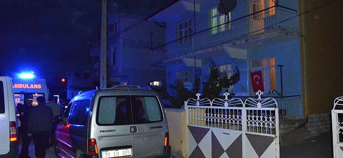 Kerpiç ev yıkıldı: 1 ölü 1