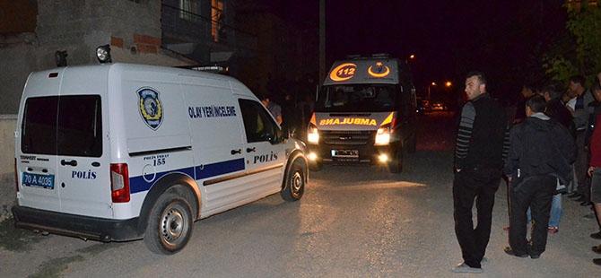 Kerpiç ev yıkıldı: 1 ölü 2