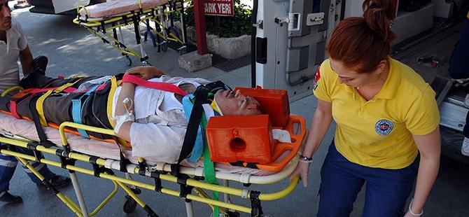 Ameliyattan çıktı, kazada yaralandı 3