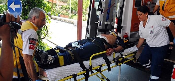 Ameliyattan çıktı, kazada yaralandı 4