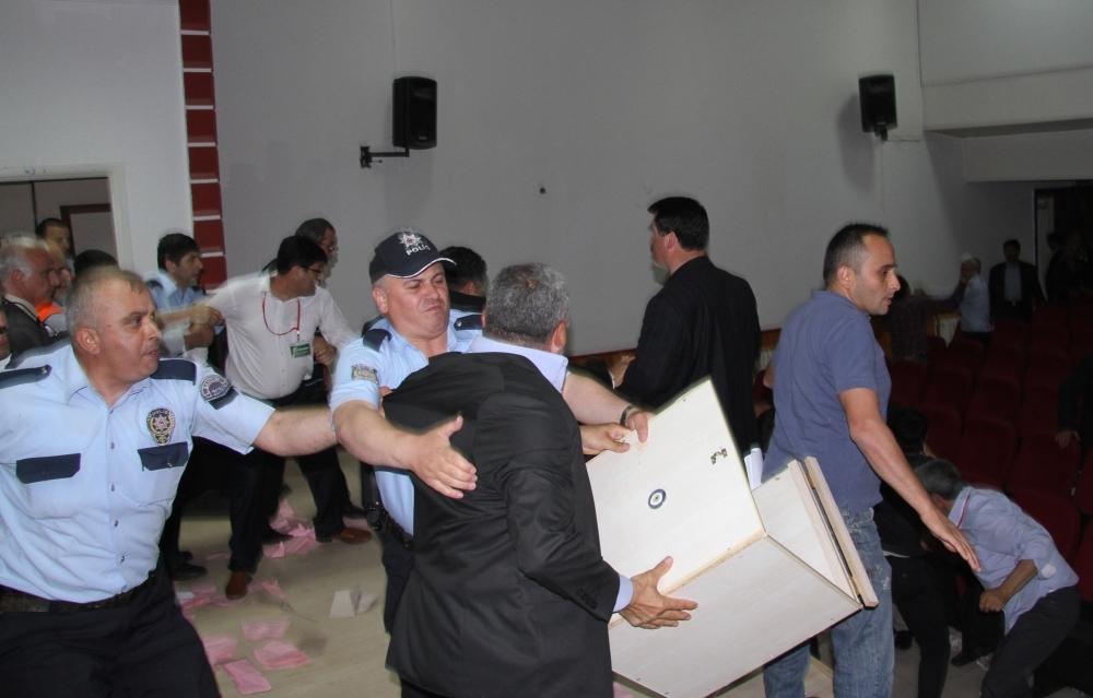 Damızlık Koyun Birliği Kongresi'nde kavga 1