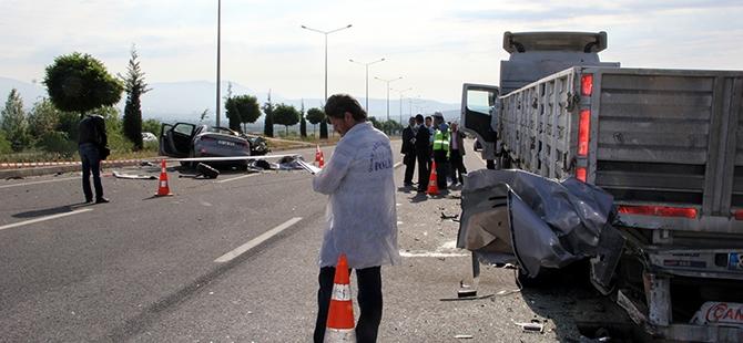 Elazığ'da trafik kazası: 2 ölü 2