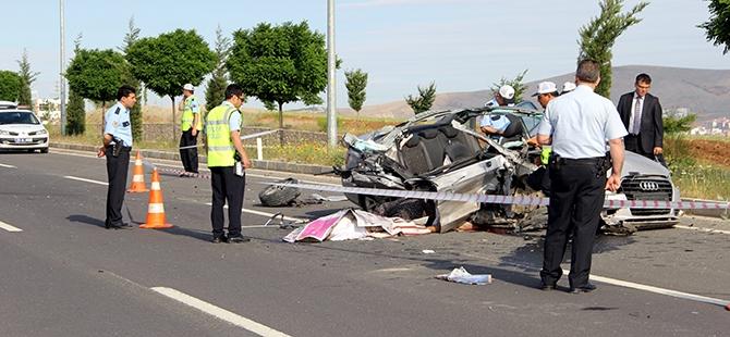 Elazığ'da trafik kazası: 2 ölü 3