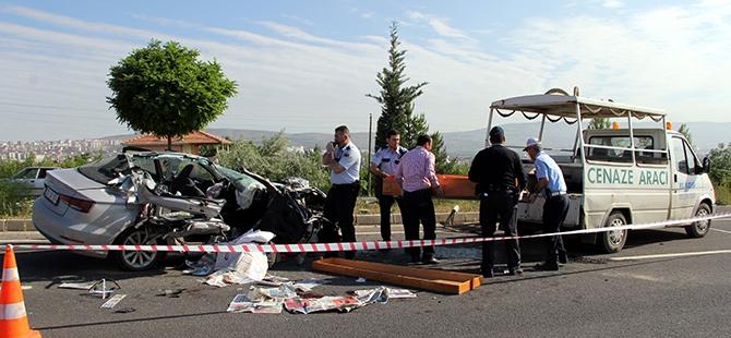 Elazığ'da trafik kazası: 2 ölü 4