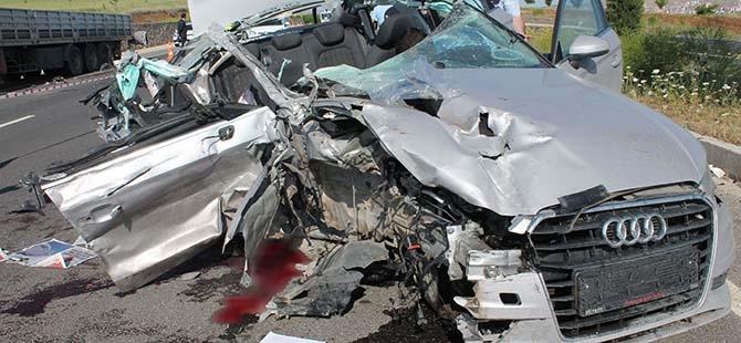 Elazığ'da trafik kazası: 2 ölü 7