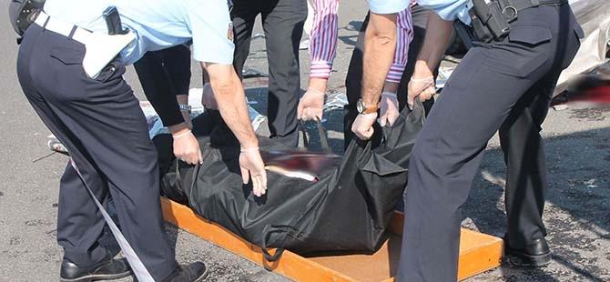 Elazığ'da trafik kazası: 2 ölü 9