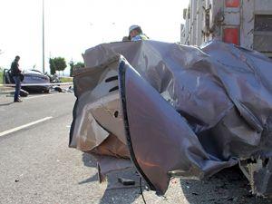 Elazığ'da trafik kazası: 2 ölü