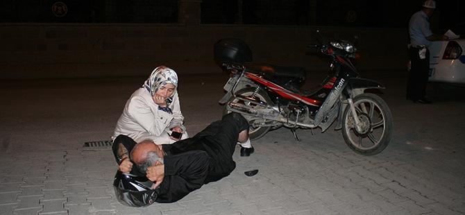 Yaralı eşinin yanından ayrılmadı 5