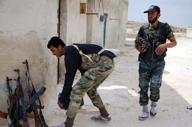 İşte Suriye'deki savaşın fotoğrafları - 27 Mayıs 2014 15
