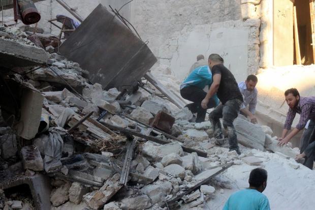 İşte Suriye'deki savaşın fotoğrafları - 27 Mayıs 2014 17