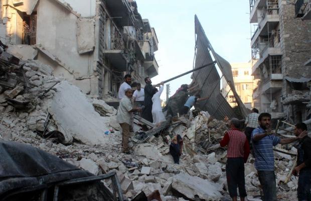 İşte Suriye'deki savaşın fotoğrafları - 27 Mayıs 2014 18