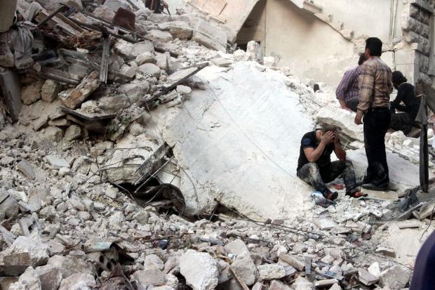 İşte Suriye'deki savaşın fotoğrafları - 27 Mayıs 2014 19