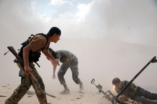 İşte Suriye'deki savaşın fotoğrafları - 27 Mayıs 2014 2