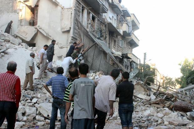İşte Suriye'deki savaşın fotoğrafları - 27 Mayıs 2014 20