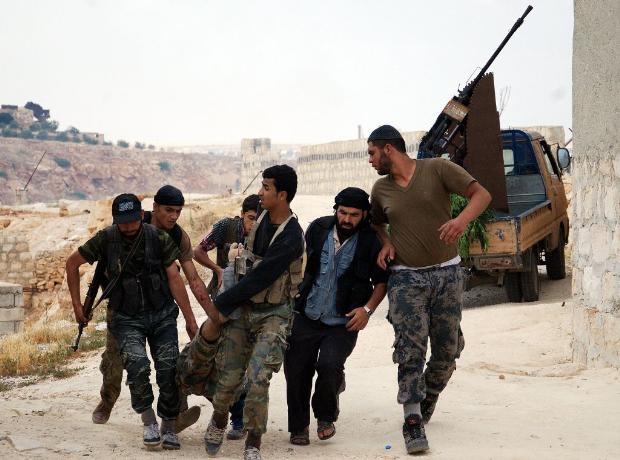 İşte Suriye'deki savaşın fotoğrafları - 27 Mayıs 2014 3