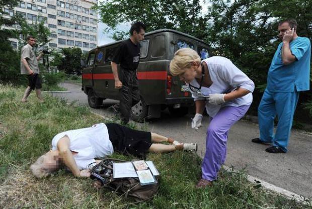 Ukrayna'dan kan donduran kareler 1