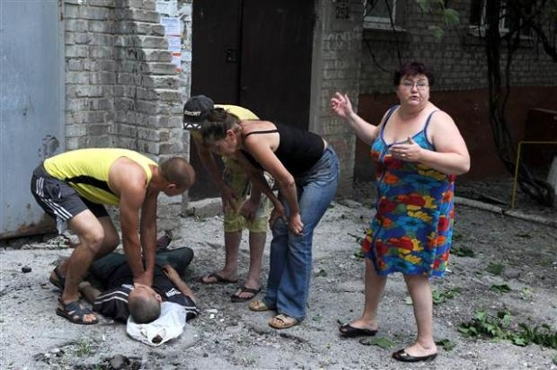 Ukrayna'dan kan donduran kareler 10