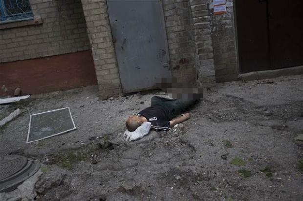 Ukrayna'dan kan donduran kareler 13