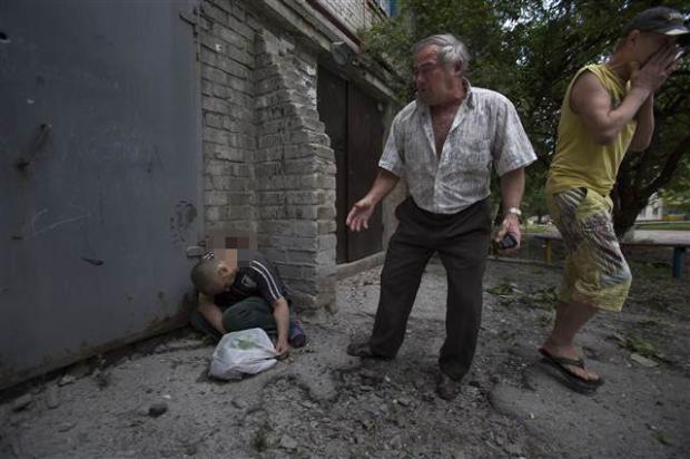 Ukrayna'dan kan donduran kareler 15
