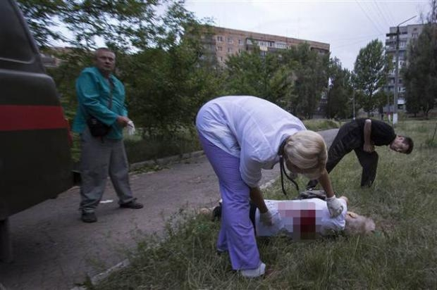 Ukrayna'dan kan donduran kareler 7