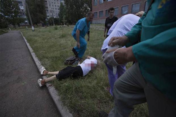 Ukrayna'dan kan donduran kareler 8