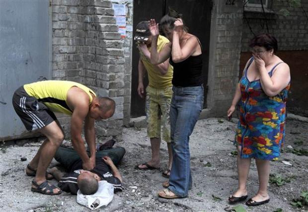 Ukrayna'dan kan donduran kareler 9
