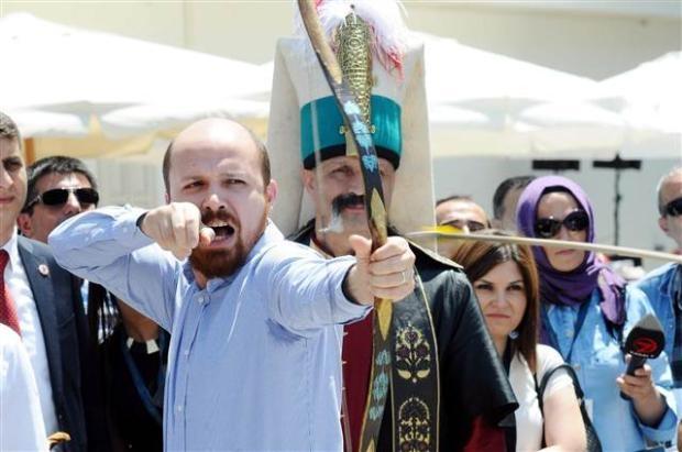 Bilal Erdoğan ok attı 14